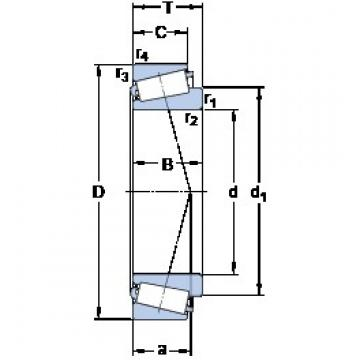 SKF 31312 J2/QCL7C tapered roller bearings